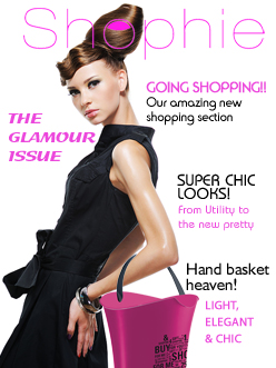 Shophie Magazine Cover
