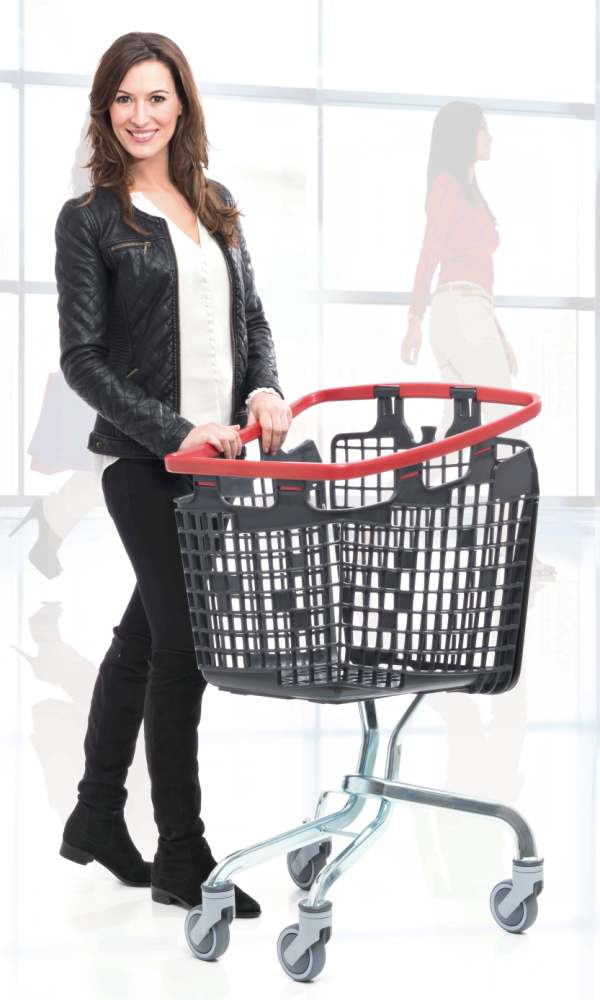 shop and roll 100L shopping trolleys